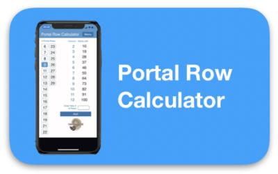 Portal Row Calculator